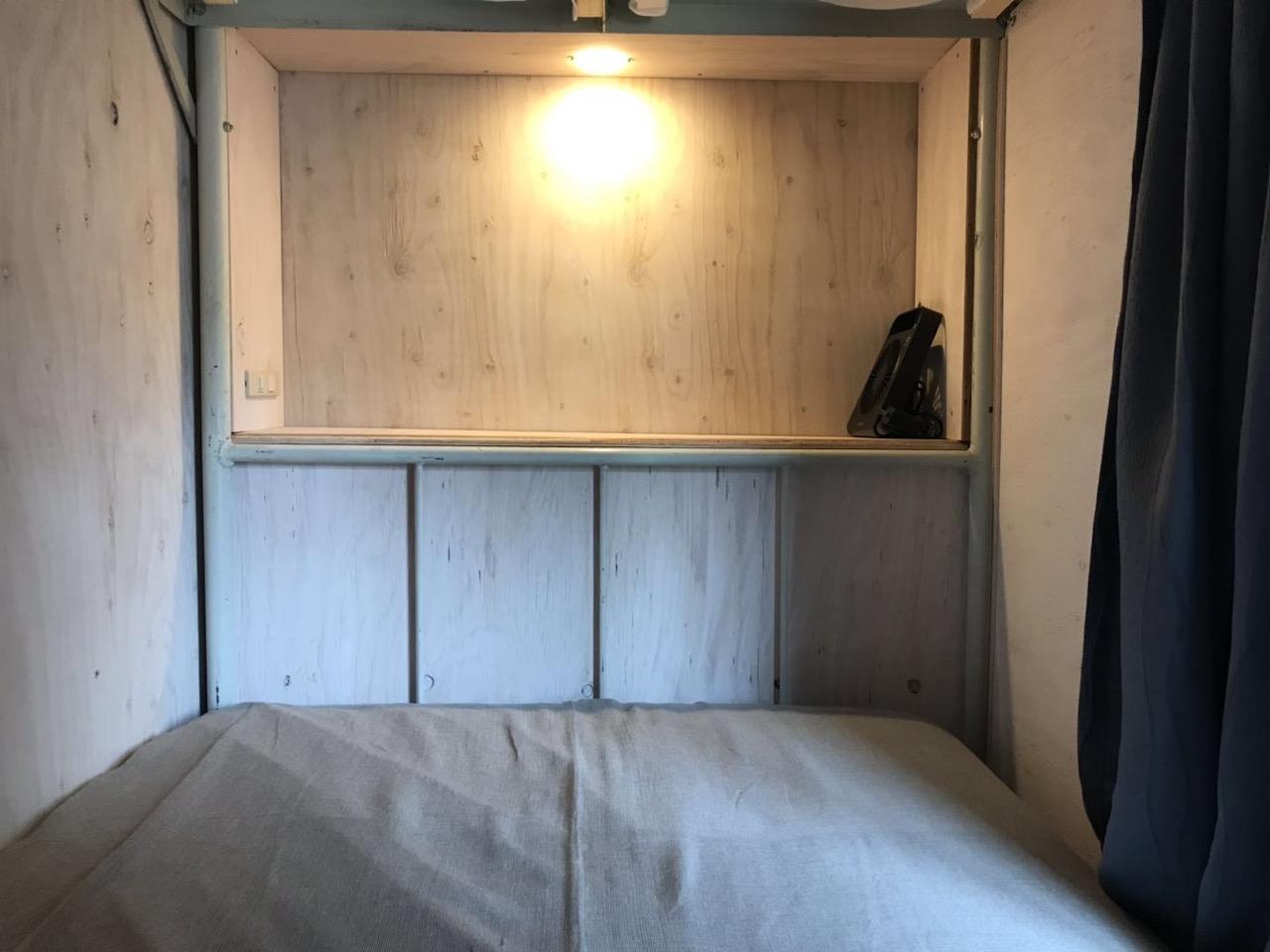 ベッド内部の写真